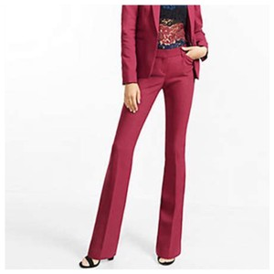 Express Boot Cut Pants berry