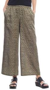 Eileen Fisher Capri/Cropped Pants Olive Green
