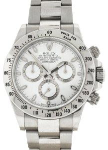 Rolex Rolex 116520 Daytona Stainless Steel White Dial Automatic Watch