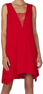 BCBGMAXAZRIA short dress Jewel Red on Tradesy