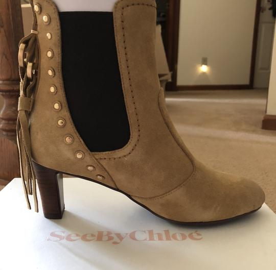 See by Chloé New Tan High-end CLEARANCE-NIB- Boots Image 10