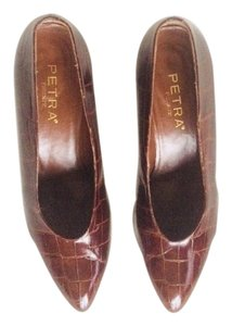 Petra Fashions Brown/Burgundy Formal