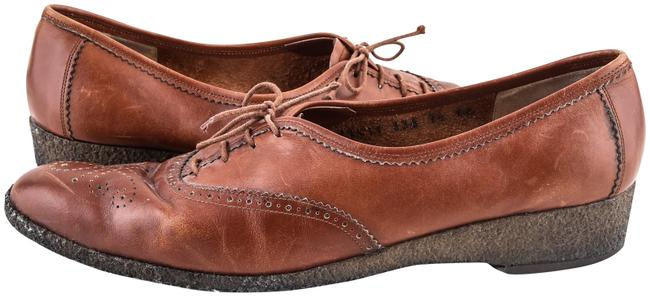 Item - Brown Lace Up Oxford Boots/Booties Size US 10 Regular (M, B)