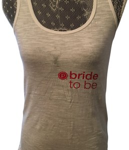 Pure Barre Top White & Red