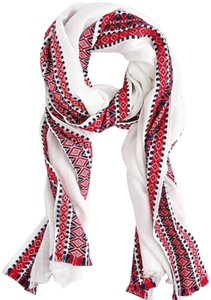 J.Crew j.crew embroidered woven scarf