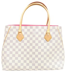 Louis Vuitton Lv Calvi Damier Azur Canvas Shoulder Bag