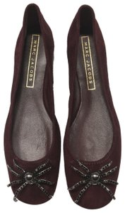 Marc Jacobs Bordeaux Flats