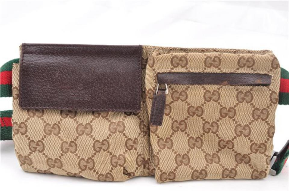 bee0845eaccb Gucci Bum Sherry Shelly Waist Fanny Pack Cross Body Bag Image 11.  123456789101112