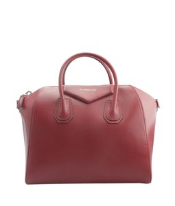 Givenchy Leather Satchel in xRed