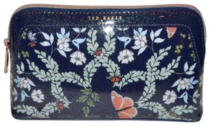 Ted Baker TED BAKER Kyoto Gardens Cosmetic Bag CASE BLue Multi