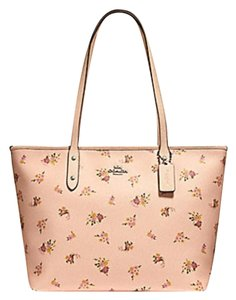 Coach Shoulder 36875 Satchel City Tote in pink
