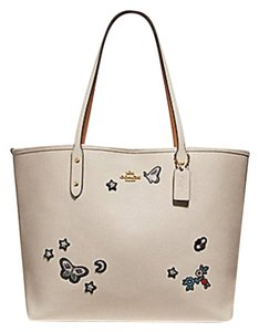 Coach Satchel Shoulder 36126 36609 Tote in white