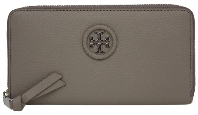 Item - French Gray Whipstitch Logo Continental Wallet