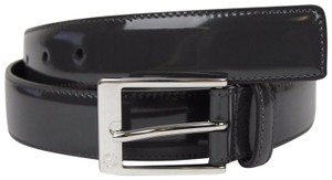 Gucci Patent Leather Belt with Square Buckle 95/38 345658 DKE0N 1107