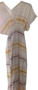 White striped Maxi Dress by lemlem Beach Coverup
