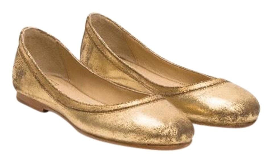 Women's Frye Flats Gold Carson Flats Frye Complete specification area 304600