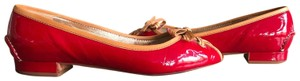 The Original Car Shoe red Flats
