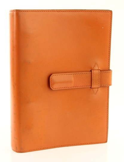 Hermès Medium Barenia Leather Notebook Cover Image 1