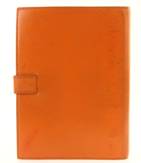 Hermès Medium Barenia Leather Notebook Cover Image 2