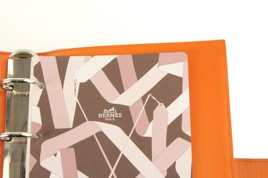 Hermès Medium Barenia Leather Notebook Cover Image 8