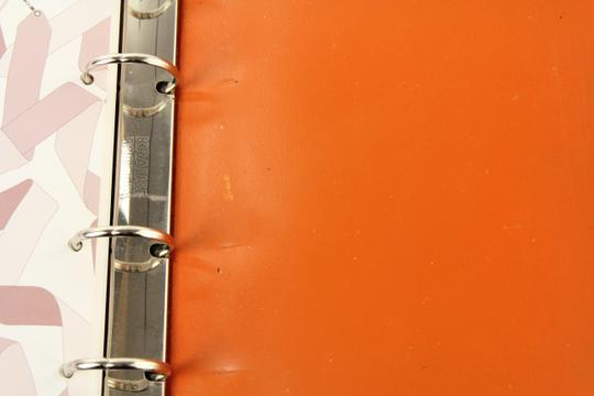 Hermès Medium Barenia Leather Notebook Cover Image 9