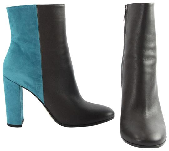 Preload https://img-static.tradesy.com/item/23346760/gianvito-rossi-multicolor-x-mary-katrantzou-limited-ed-teal-suede-brown-leather-bootsbooties-size-eu-0-1-540-540.jpg