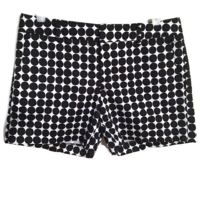 Item - Black & White Polka Dot Print Shorts Size 2 (XS, 26)