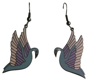 Lauren Burch LAUREN BURCH Swan Earrings