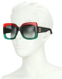 Gucci Gucci GG0083S 001 Red - Black Sunglasses 2 DAY SALE New!!