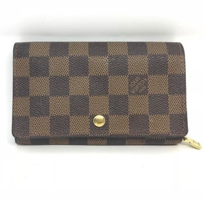 Louis Vuitton Louis Vuitton Damier Ébène Émilie Wallet