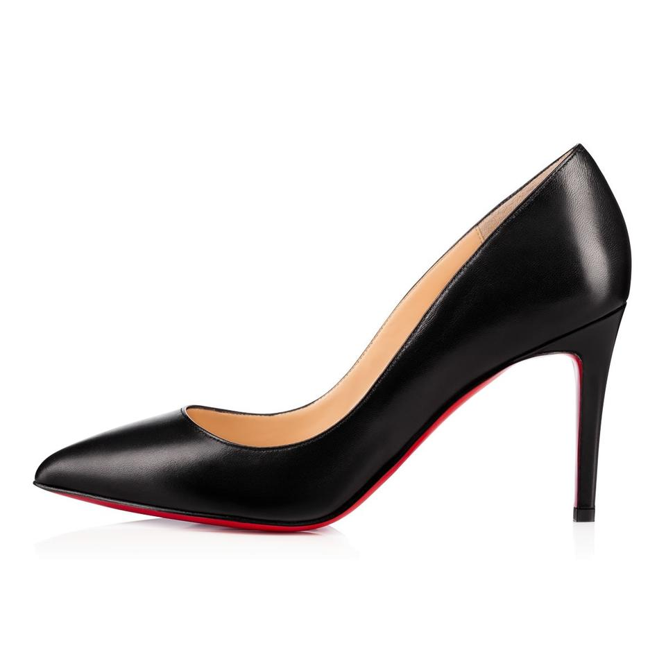 34cc08647eb1 Christian Louboutin Black New Pigalle Follies 85 Leather In Stock ...
