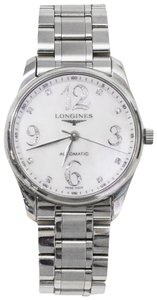 Longines Longines Stainless Steel Masters Collection Watch with Box
