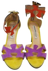 Marskinryyppy Heels Multi Color Yellow, Navy, Orange, Purple Pumps