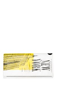 Kate Spade Black, White, & Yellow Clutch