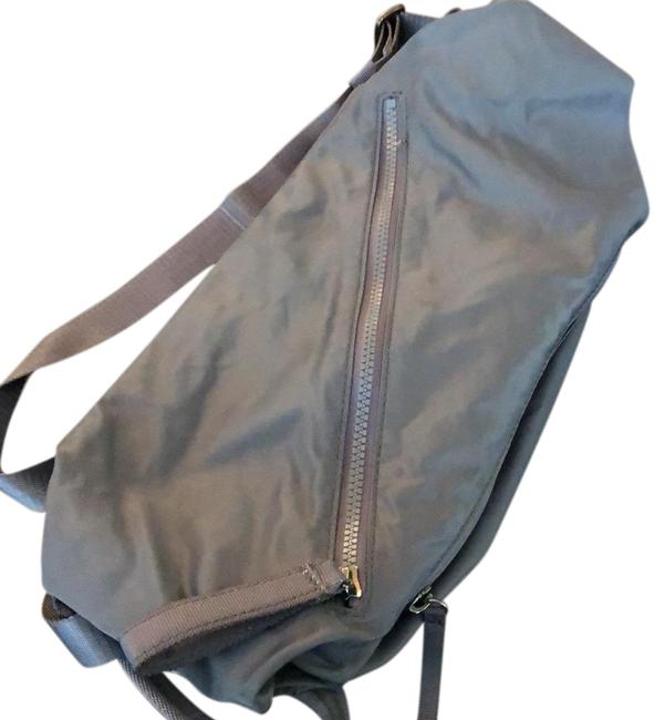 Item - Fast Track Gray Canvas Backpack