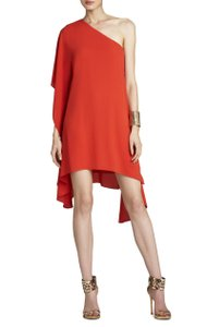 BCBGMAXAZRIA Asymmetrical One-shoulder Dress