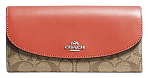 Coach COACH SLIM ENVELOPE WALLET IN signature COLORBLOCK f56494