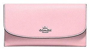 Coach Coach CHECKBOOK WALLET IN leather 16613
