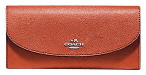 Coach COACH CROSSGRAIN LEATHER SLIM ENVELOPE WALLET 54009