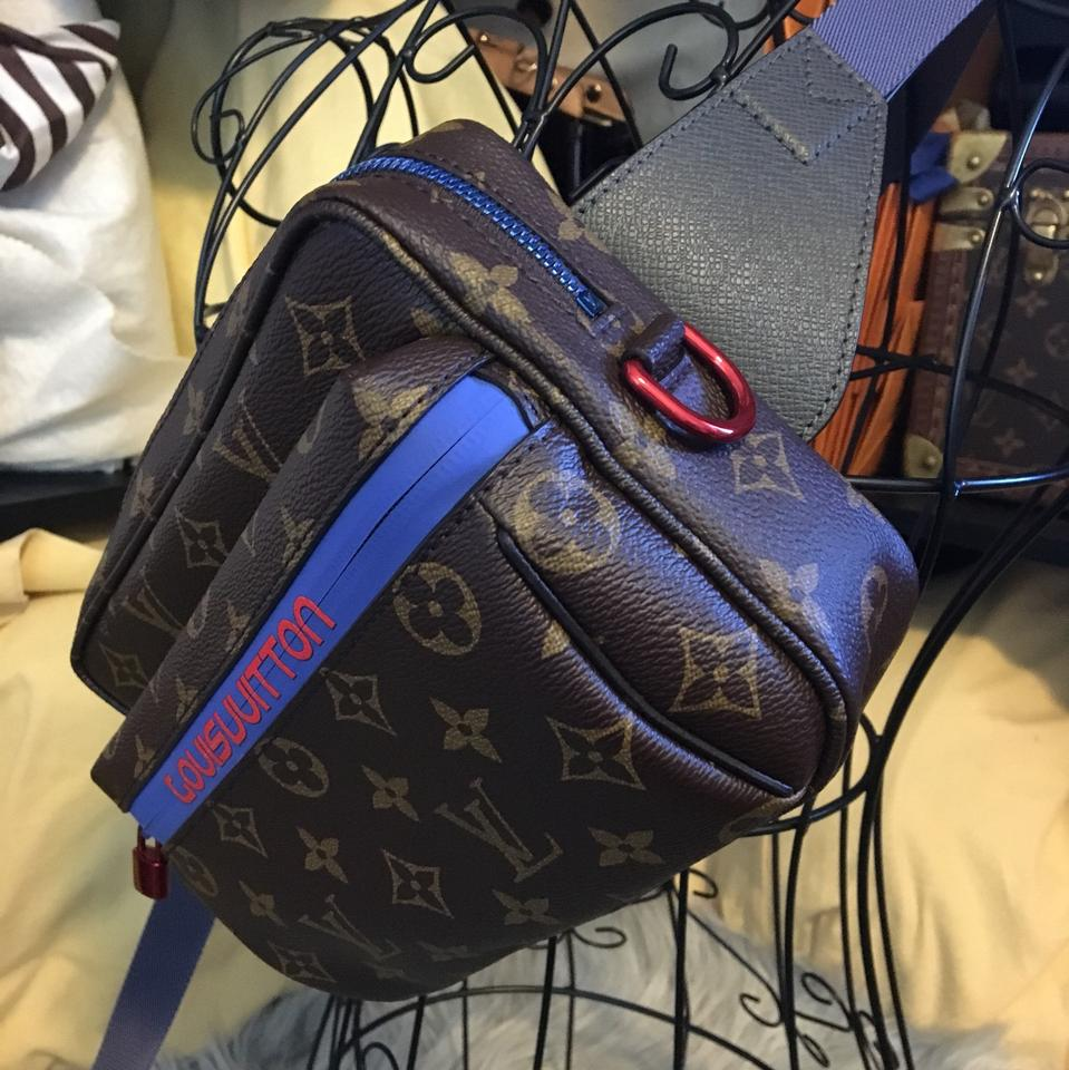 642fdbe27fd1 Louis Vuitton Bumbag Outdoor Pacific Blue Fanny Pack Belt Backpack ...
