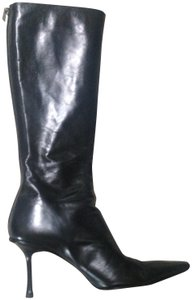 Jimmy Choo Leather Chic black Boots