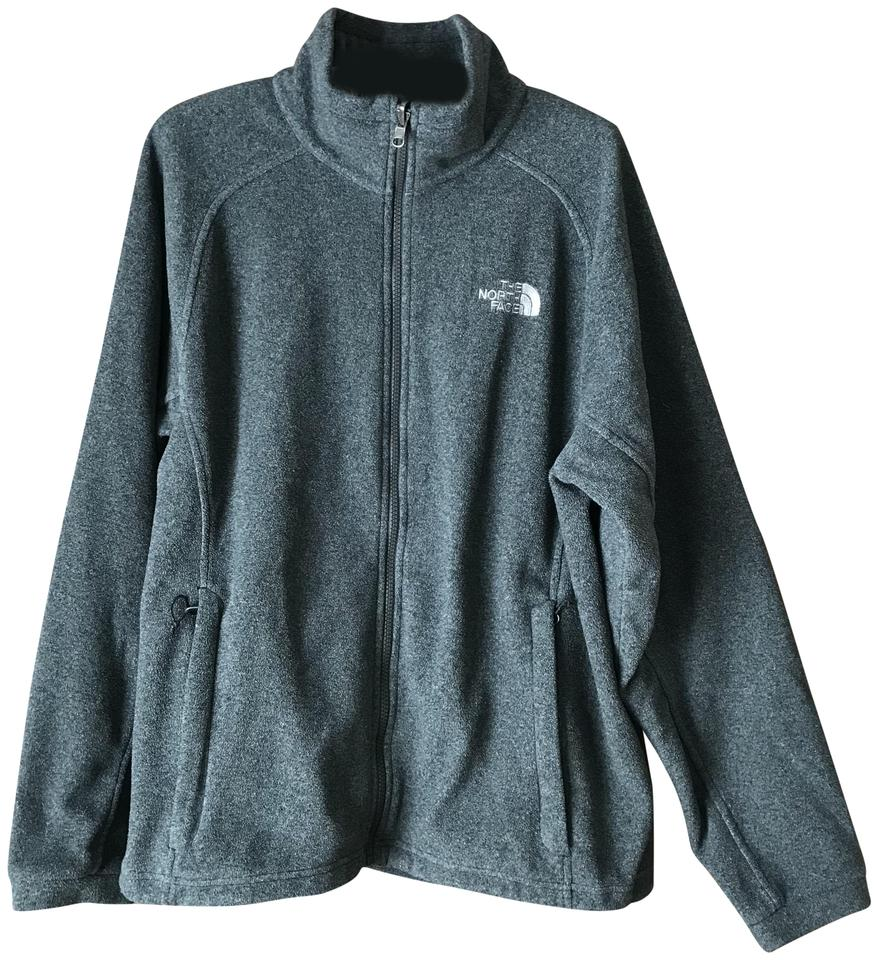 f9769f35ea The North Face Grey Men s Medium Fleece Activewear Outerwear Size 10 ...