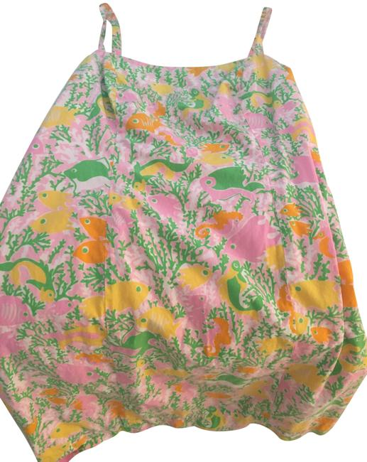 Preload https://img-static.tradesy.com/item/23350424/lilly-pulitzer-pink-green-yelllow-orange-white-short-casual-dress-size-4-s-0-1-650-650.jpg