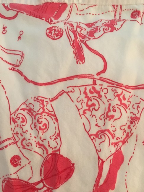 Lilly Pulitzer short dress White and Red Sundress on Tradesy