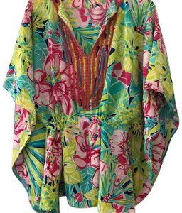 Lilly Pulitzer Lilly Pulitzer beaded coverup tunic caftan