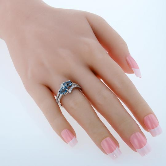 Other Topaz Two Stone Ring