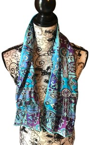 Other Beautiful blue and purple scarf
