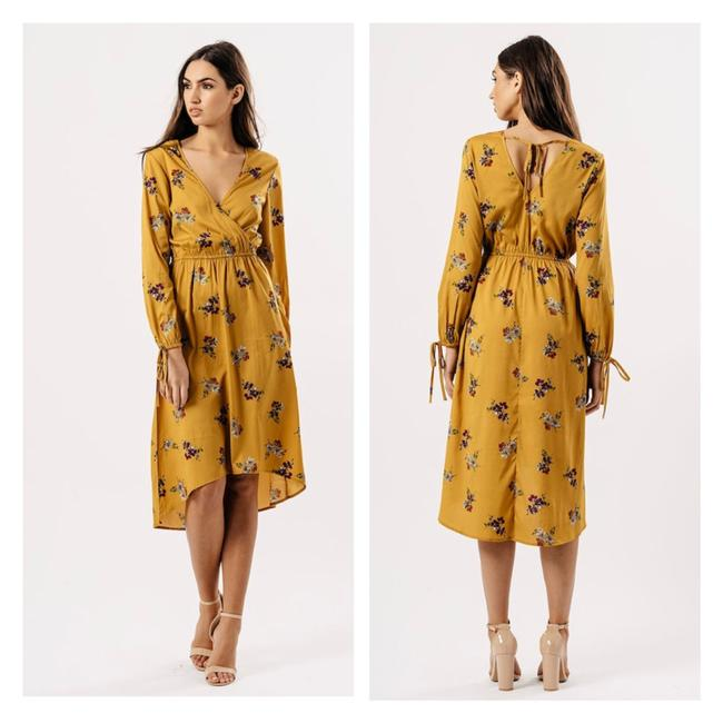 Preload https://img-static.tradesy.com/item/23350833/asos-mustard-floral-print-wrap-style-midi-long-casual-maxi-dress-size-8-m-0-0-650-650.jpg