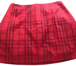 29f5d3732e5d Women s Red Burberry Skirts - Up to 90% off at Tradesy
