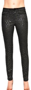 JOE'S Jeans Sequin Stretch Skinny Jeans-Medium Wash